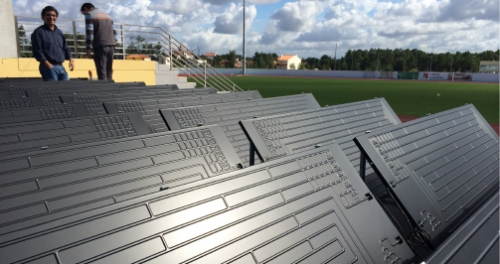 CASE STUDY ENERGIE – REHABILITATION OF SPORTS FACILITIES
