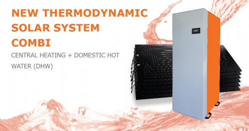 New NEW THERMODYNAMIC SOLAR SYSTEM – COMBI