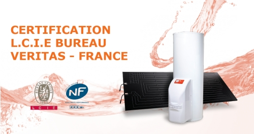 CERTIFICATION L.C.I.E BUREAU VERITAS - FRANCE