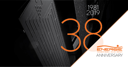 New 38th ENERGIE ANNIVERSARY